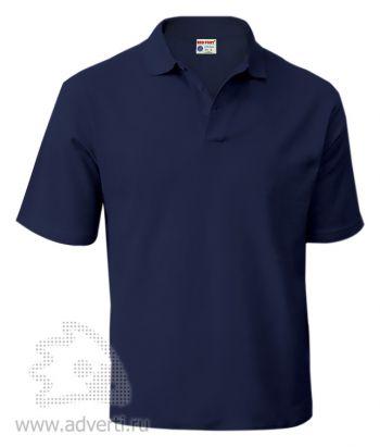 Рубашка поло «Red Fort», мужская, темно-синяя