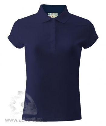 Рубашка поло «Red Fort», женская, темно-синяя