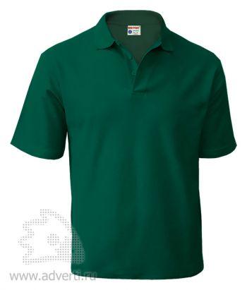 Рубашка поло «Red Fort», мужская, темно-зеленая