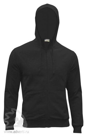 Куртка-толстовка с капюшоном «Red Fort Forano», черная