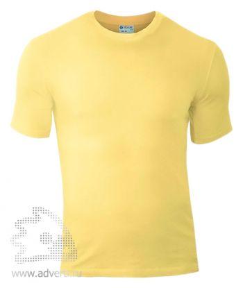 Футболка «Red Fort Man», мужская с коротким рукавом, светло-желтая