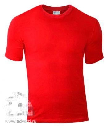 Футболка «Red Fort Man», мужская с коротким рукавом, красная