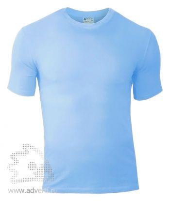Футболка «Red Fort Man», мужская с коротким рукавом, голубая