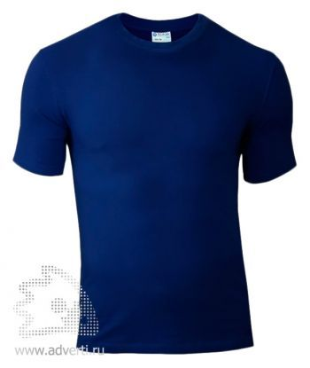 Футболка «Red Fort Man», мужская с коротким рукавом, темно-синяя