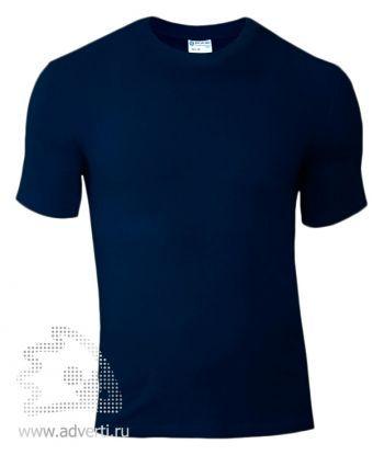 Футболка «Red Fort Man», мужская с коротким рукавом, синяя