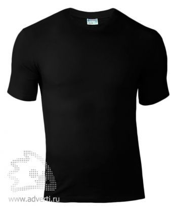 Футболка «Red Fort Man», мужская с коротким рукавом, черная