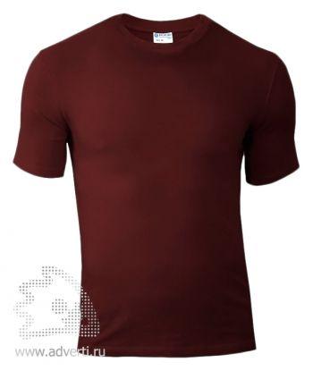 Футболка «Red Fort Man», мужская с коротким рукавом, коричневая