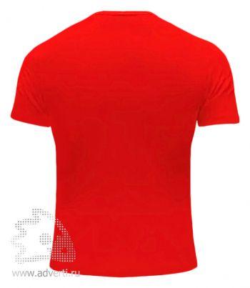 Футболка «Red Fort Man», мужская с коротким рукавом, красная оборот