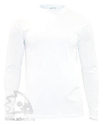 Футболка «Red Fort Man», мужская с длинным рукавом, белая