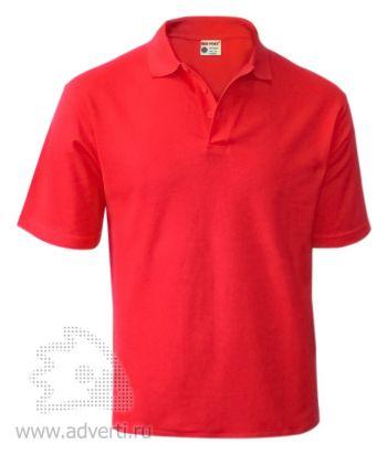 Рубашка поло «Red Fort», мужская, красная