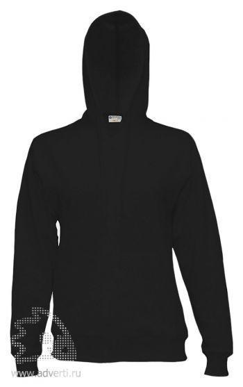 Куртка-толстовка с капюшоном «Red Fort Solano», черная