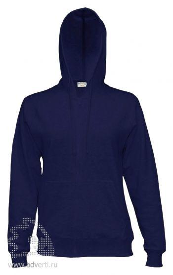 Куртка-толстовка с капюшоном «Red Fort Solano», темно-синяя