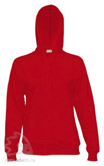 Куртка-толстовка с капюшоном «Red Fort Solano», красная
