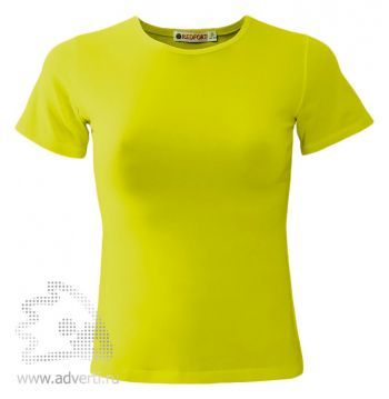 Футболка «Red Fort Lady», женская с коротким рукавом, светло-желтая