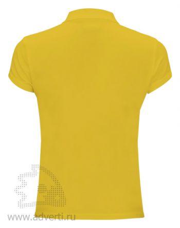 Рубашка поло «Red Fort», женская, желтая оборот