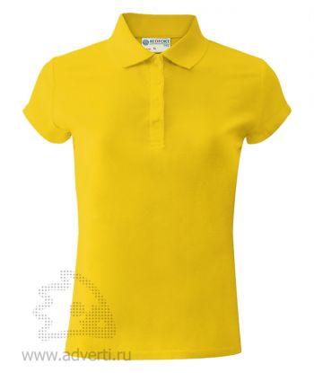 Рубашка поло «Red Fort», женская, желтая