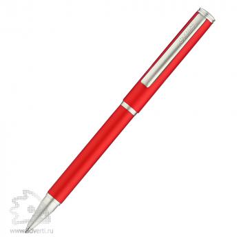 Шариковые ручки «Ростов», матовая Салiасъ, красная