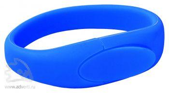 Силиконовый браслет «Promo-2», синий