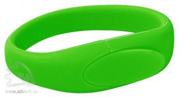 Силиконовый браслет «Promo-2», зеленый