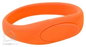 Силиконовый браслет «Promo-2», оранжевый