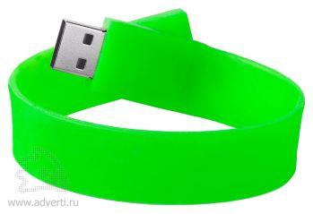 Силиконовый браслет «Promo», светло-зеленый