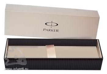 Шариковая ручка «Parker Jotter Premium Stainless Steel Chiselled», упаковка