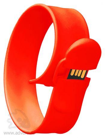 Браслет «Slap wrist», красный