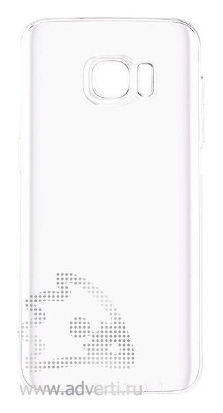 Чехлы для Samsung Galaxy S7, прозрачные, глянцевые
