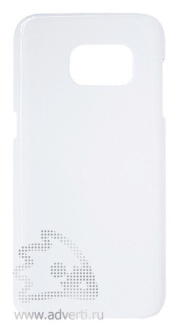 Чехлы для Samsung Galaxy S7, белые, глянцевые