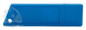 Флеш-память «Silikon Saw», синяя