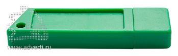 Флеш-память «Silikon Saw», зелёная