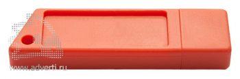 Флеш-память «Silikon Saw», оранжевая