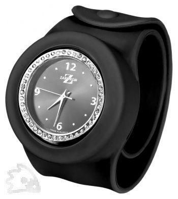 Часы «Slap On Watch» со стразами, черные