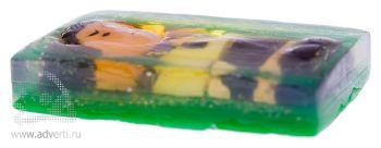 Мыло 3D с нанесением более 4 цветов 80 г, общий вид