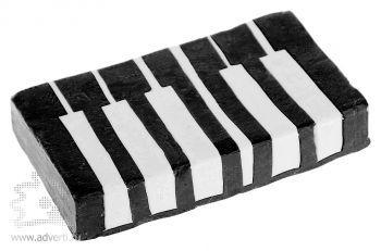Мыло по индивидуальному дизайну, в виде клавишь