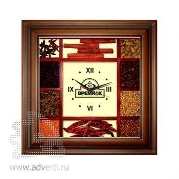 Деревянные часы со специями