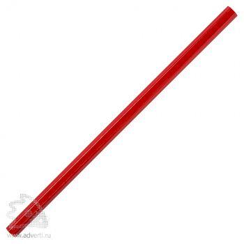 Карандаш «Стандарт плюс», красный