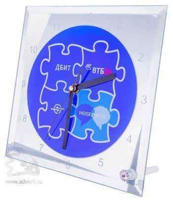 Настольные стеклянные часы под сублимацию