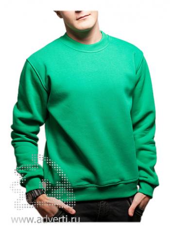 Свитшот «Универ Клаб», унисекс, зеленый