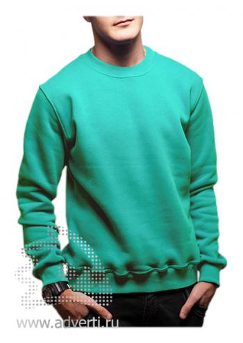 Свитшот «Универ Клаб», унисекс, светло-зеленый