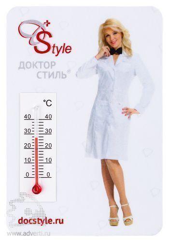 Магнитный термометр, вертикальный
