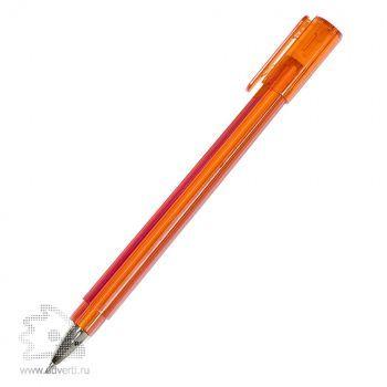 Шариковая ручка «Tetra Frost», оранжевая