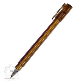 Шариковая ручка «Tetra Frost», коричневая