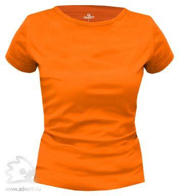 Футболка Leela «Lady Stretch» женская, оранжевая