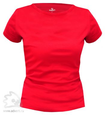 Футболка Leela «Lady Stretch» женская, красная