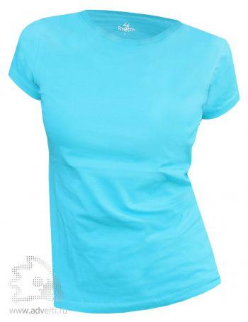 Футболка Leela «Lady Stretch» женская, голубая