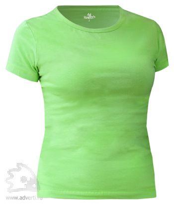 Футболка Leela «Lady Stretch» женская, зеленая
