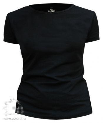 Футболка Leela «Lady Stretch» женская, черная