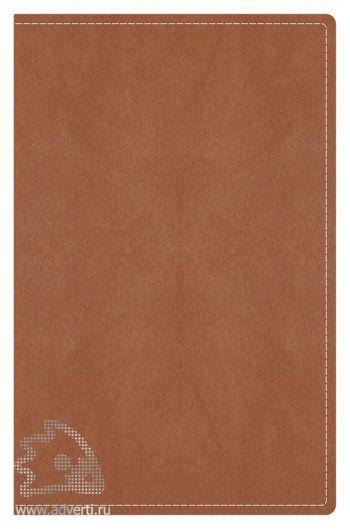 Визитницы «Тоскана», светло-коричневые