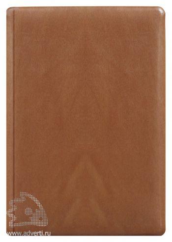 Ежедневники и еженедельники «Тоскана», светло-коричневые